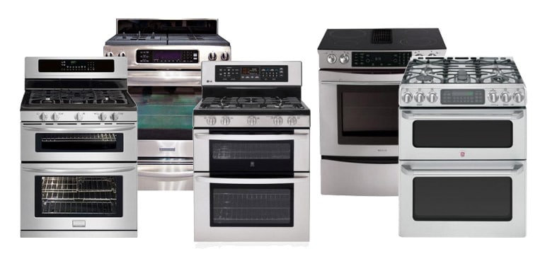 stove and range models, Atlanta Range Repair Services, All Pro Appliance and Refrigerator Repair Services Metro Atlanta