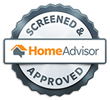 home advisor screened approved badge