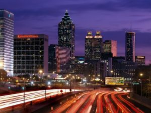 night sky of Atlanta downtown, Atlanta Appliance Repair Services