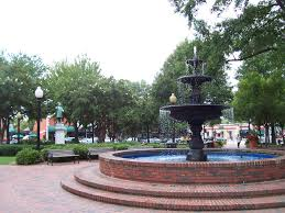The fountain in Marietta park, Marietta Refrigerator Repair Services